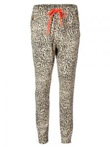 Sweatbukser leopard stribe