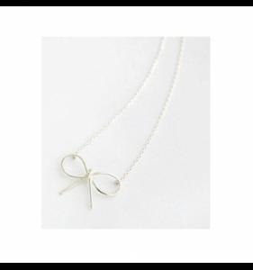 Sølv halskæde til kvinder butterfly