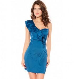Festkjole blå