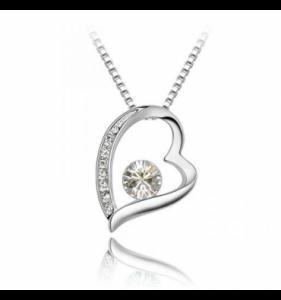 Sølv halskæde til kvinder etsy