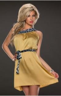 Flot guld kjole