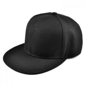 Klassisk sort cap til mænd