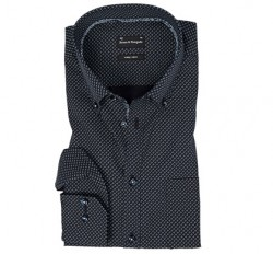 Bruun og stengade skjorte sort
