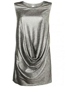 flot kjole sølv