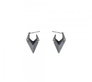 Oxiderede øreringe af Maria Black