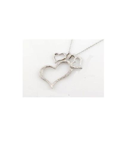 Hjerte halskæde big