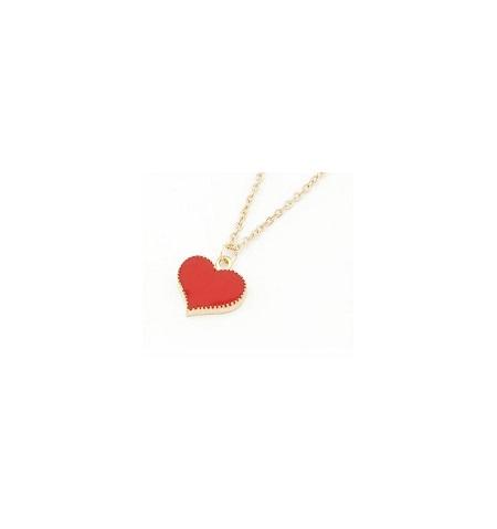 Hjerte halskæde