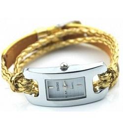 billige ure til kvinder guld læder