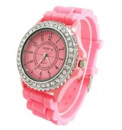 billige ure til kvinder pink