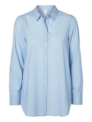 vero moda skjorte lyseblå