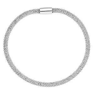 Armbånd i sølv blankt