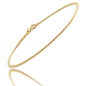 Guld halskæde tynd