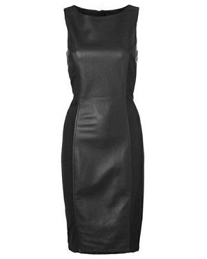 smarte kjoler lang sort