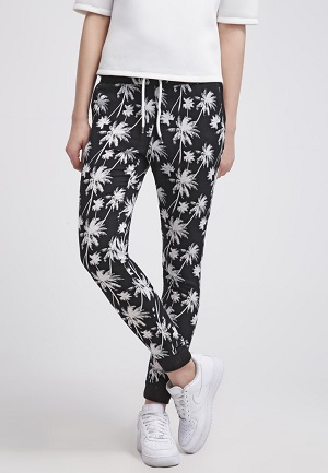bukser med mønster