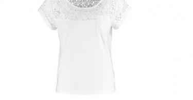 Hvid t-shirt forside