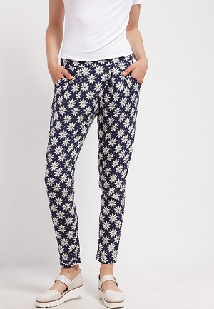 mønster bukser dame