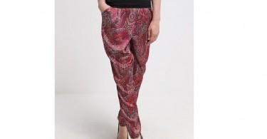 Mønstrede bukser forside
