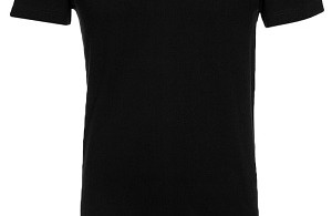 Sort og smart T-shirt fra Lacoste