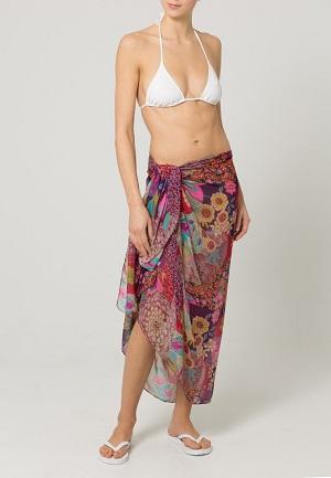 Blomster sarong til kvinder