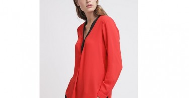Røde bluser til kvinder forside