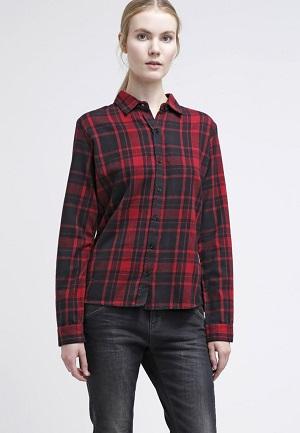 røde bluser til kvinder
