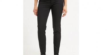 Sorte bukser til kvinder forside