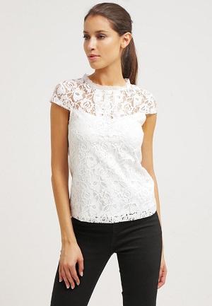 Hvid Dorothy Perkins t-shirt