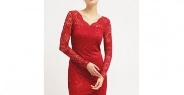 Rød kjole fra Vero Moda forside