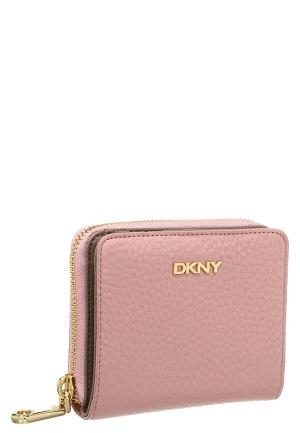 Rose farvet pung fra DKNY