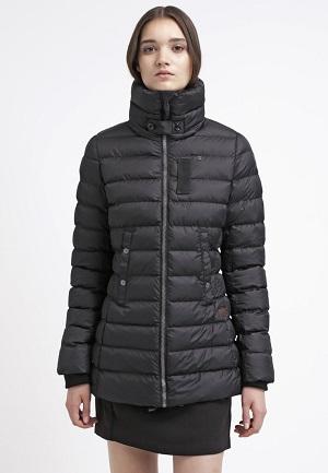 Fede vinterjakker til kvinder i sort