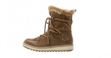 Læder vinterstøvler forside