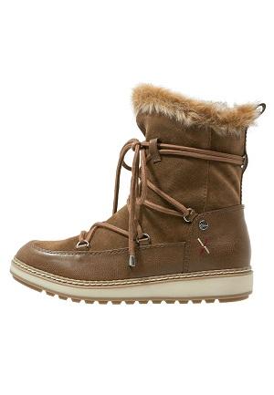 Læder vinterstøvler