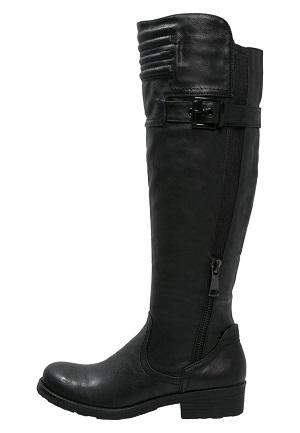 Lang sort vinterstøvle