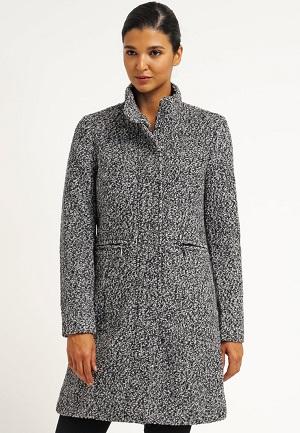 Vinterfrakker til kvinder i grå