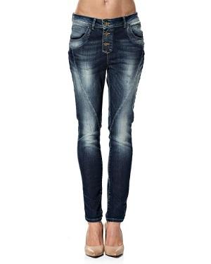 Denim farvet only jeans tilbud