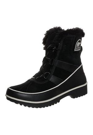 Flot sort dame vinterstøvle