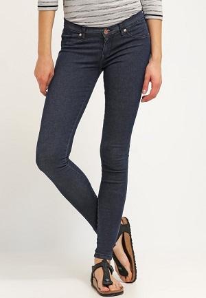 Mørke og smarte jeans til kvinder