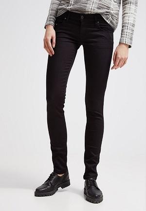 Smarte jeans til kvinder i sort