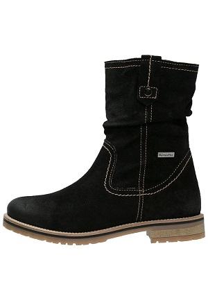 Sort vinterstøvle til damer