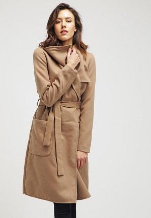 Billig uldfrakke fra Only