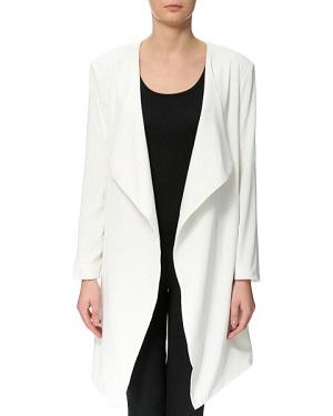 Hvid cardigan