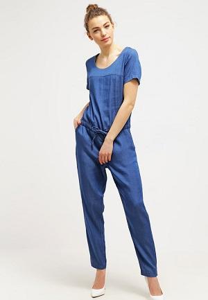 Blå Vila buksedragt