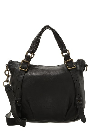 Fed taske til kvinder i sort