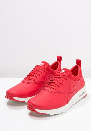 Fede røde sneakers til kvinder