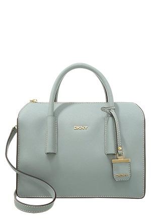 Lyseblå elegant håndtaske