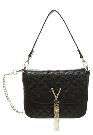 Sort og elegant håndtaske