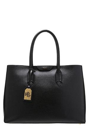 Vildt smart håndtaske i sort