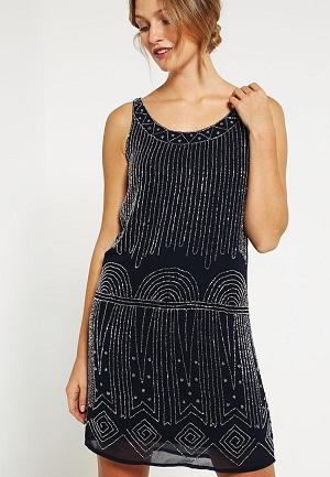 Peacoat kort kjole