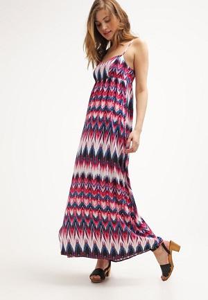 Mønstret sommerkjole lav pris
