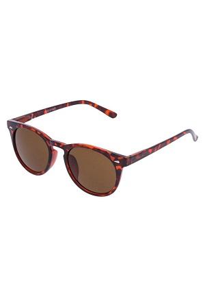 Fede brune solbriller til damer